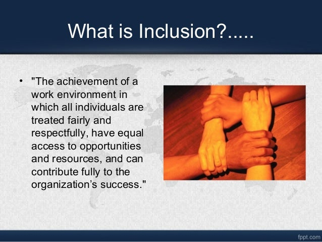 Diversity is desirable for organizational success