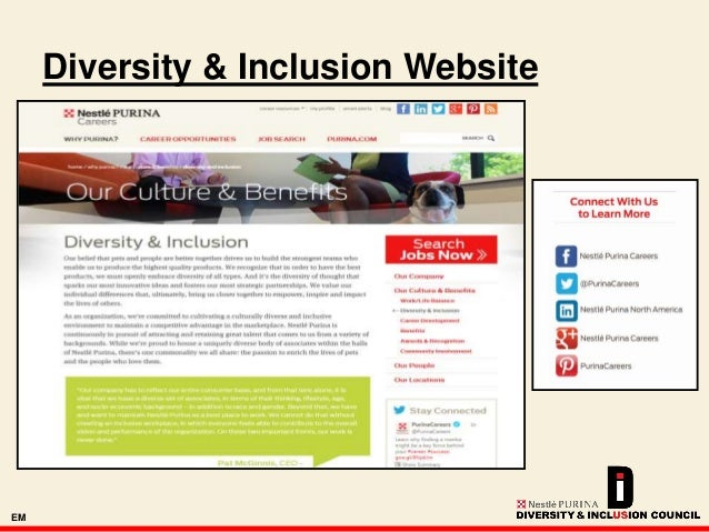 diversity and inclusion at nestl purina