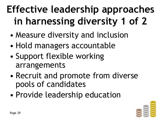 leading equality and diversity 1 findings: sector-leading and innovative practice in advancing equality and diversity report to hefce by the equality challenge unit april 2017.