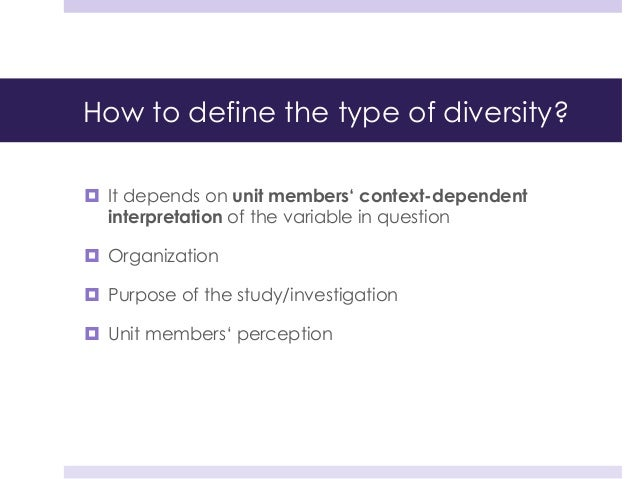 diversity in organizations Diversity programs and leadership diversity programs within organizations include awareness training and leadership development for members of groups who are.