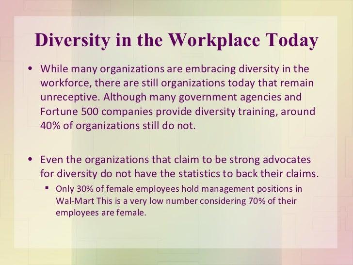 Diversity in organizations essay