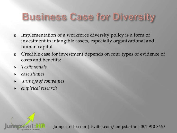 a research on the benefits of a diverse workforce How can the answer be improved.