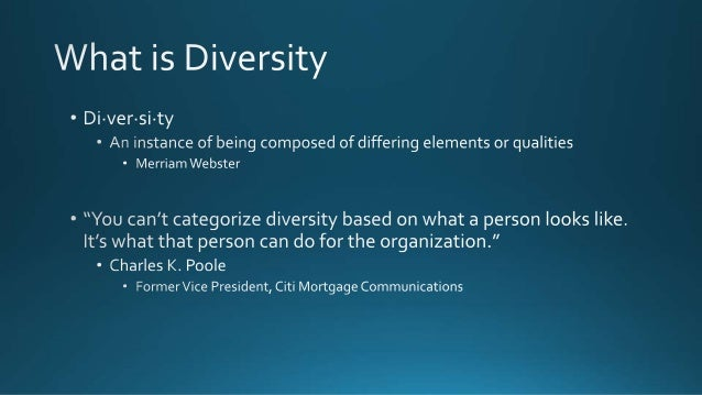 Diversity In The Workplace Slide 2