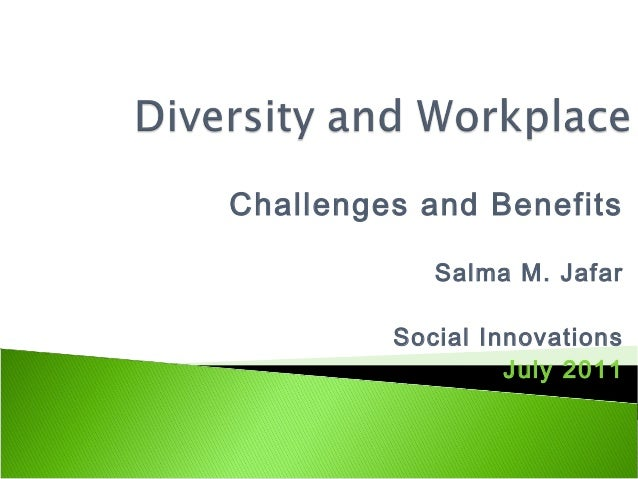 challenges of diversity in the workplace pdf