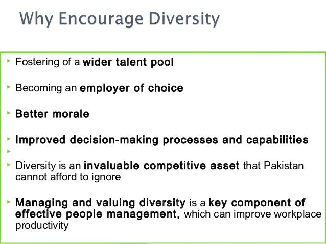 diversity in the workplace final draft The diversity and inclusion revolution: eight powerful truths deloitte  our final  truth is the most sweeping and underpins all seven truths.
