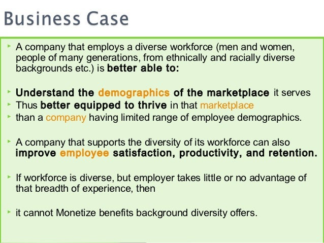 Workplace Diversity Essays and Research Papers