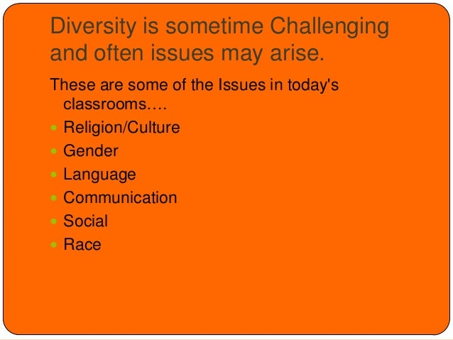 diversity issues