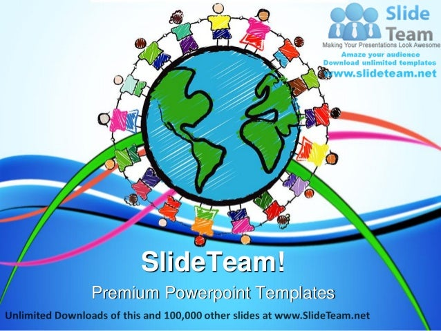 Diversity Kids Global Power Point Templates Themes And