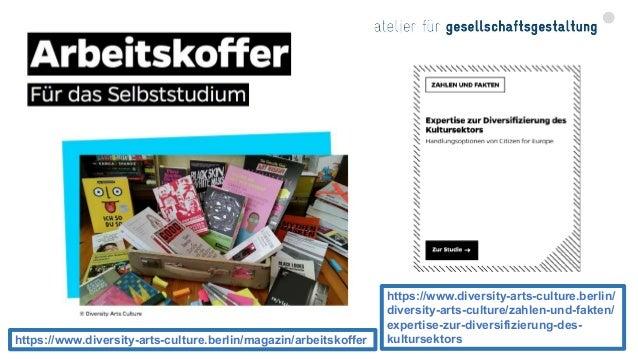 CAF-Diversität, Qualitätsmanagement für Vielfalt und Gleichstellung (Bundeskanzleramt Österreich 2017) Beispiel: Diversitä...