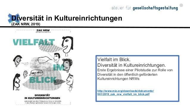 """Ergebnisse der Studie """"Vielfalt im Blick"""", Zukunftsakademie NRW"""
