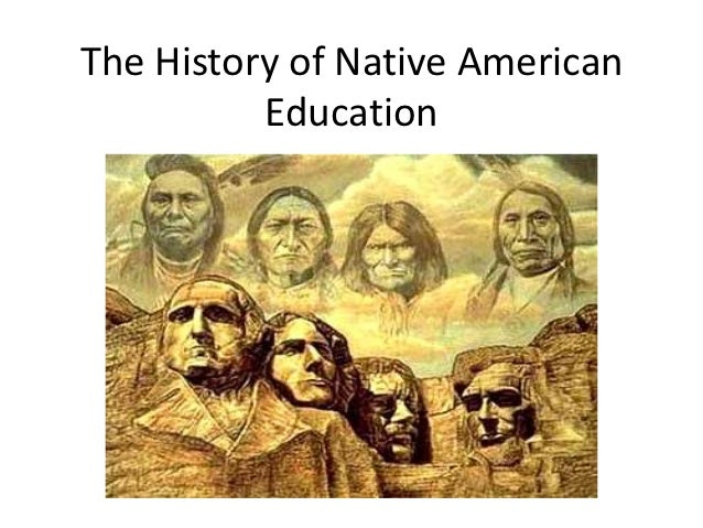 native american education The summit looks at ways to improve education for native american students  native american students have a high school graduation rate.