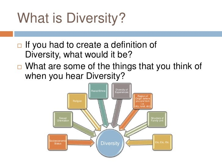 What Does Diversity Mean in Education?