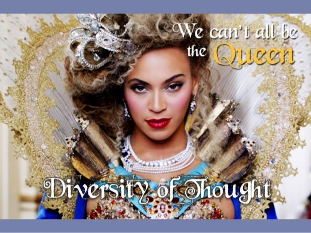 Diversity	   is:	    •  Different.	    •  More	   than	   race.	    •  What's	   within	   you,	   what	   makes	   you	   ...