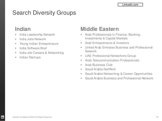 LinkedIn is awesome for diversity recruiting