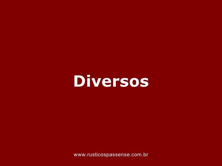 Diversoswww.rusticospassense.com.br