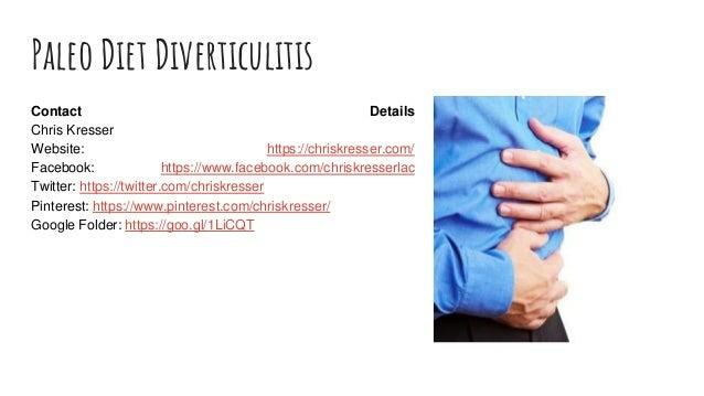 paleo diet abs diverticulosis
