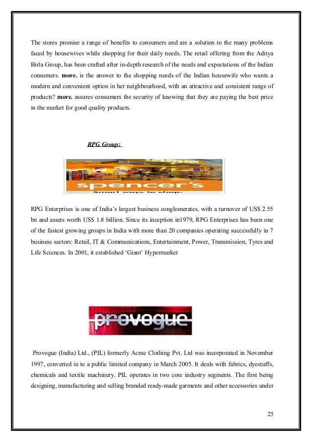Big Bazaar - Indian Walmart - Case Study Essay