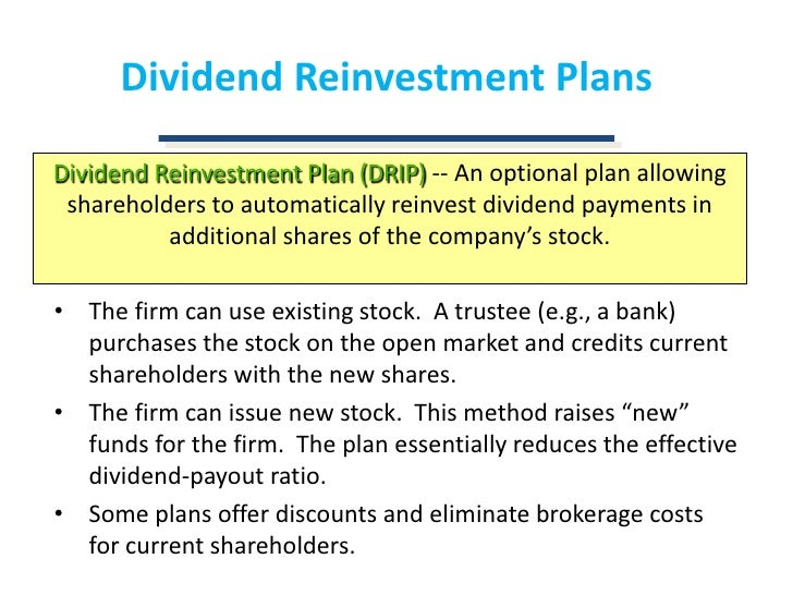 Dividend reinvestment plan tax treatment ukulele investment fact finding forms