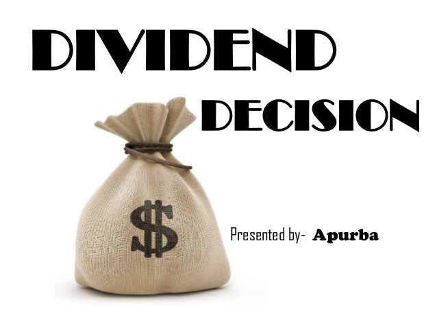 Dividend and topic