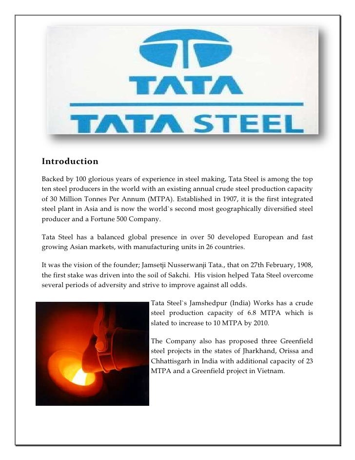 7s model of tata steel The business excellence endeavour at tata steel has helped the company evolve mastering change as custodian of the famed tata business excellence model.