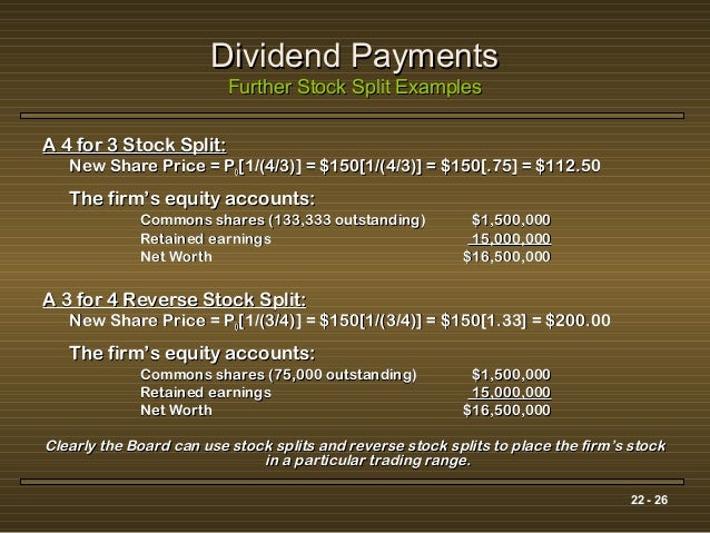 dividend policy case 26 Dividend policy and the organization of capital markets  which in this case is the annual dividend divided by the average of the year's high and low stock.