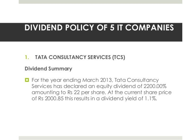thesis on dividend policy This coursework examines and investigates into the dividend policies adopted by companies listed on the london stock exchange and the factors that determine dividend.