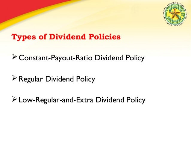 what are legal constraints on dividend policy Dividend policy : meaning, types, determinants & constraints ( complete notes pdf ) dividend policy is another important concept of financial management to understand dividend policy, you must be aware of the term dividend.