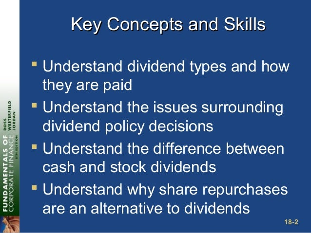 dividends and dividend policy 1) regular dividend policy: in this type of dividend policy the investors get dividend at usual rate here the investors are generally retired persons or weaker section of the society who want to get regular income.