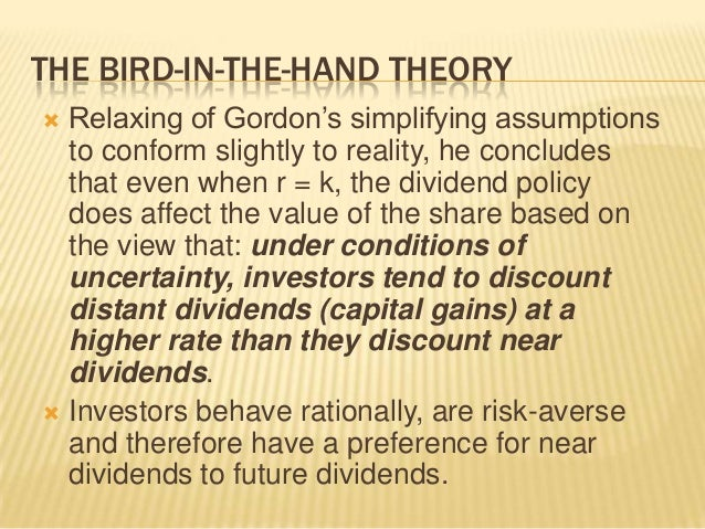 theories of dividends There are basically 4 types of dividend policy let us discuss them on by one.