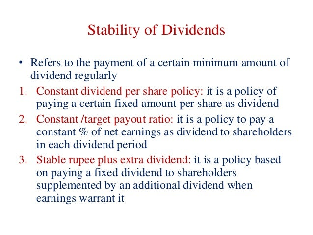 dividend policy theories Stock dividend policy in china dr xi wang the above tax clientele and agency theories about dividend policy are somewhat complicated by the.