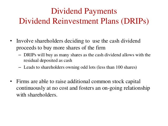 essays on dividend policy theories The dividend irrelevance theory is a concept that is based on the premise that the dividend policy of a given company should not be considered particularly important.