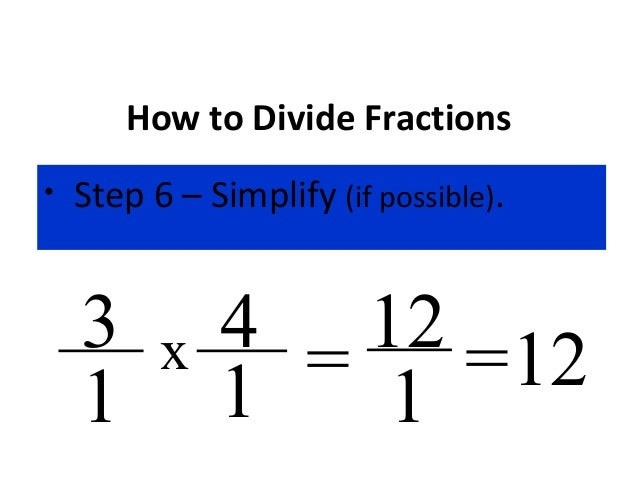 Dividing fractions how to divide fractions ccuart Images