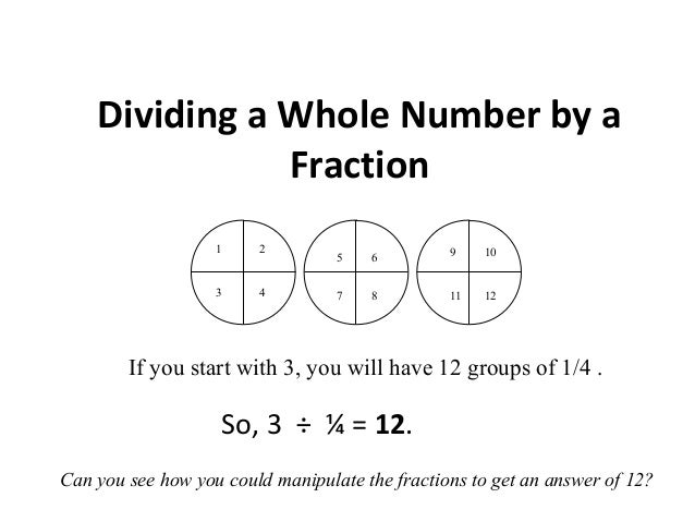 Dividing fractions dividing a whole number by a fraction ccuart Gallery