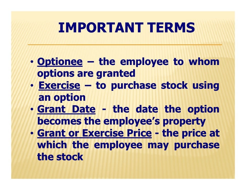 Private company stock options for employees