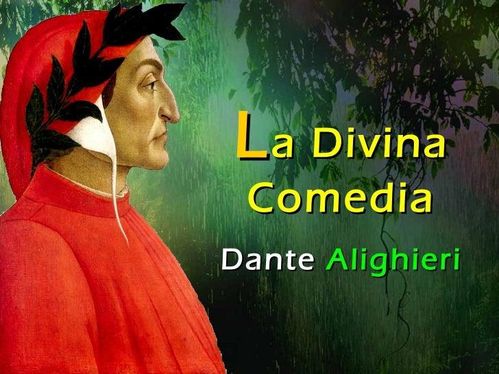 L a Divina Comedia Dante  Alighieri