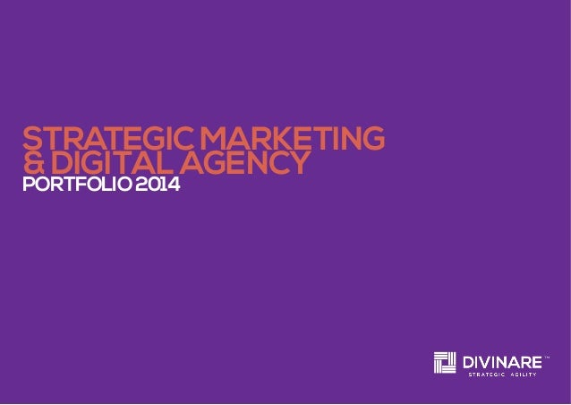 strategic marketing & digital agency portfolio2014