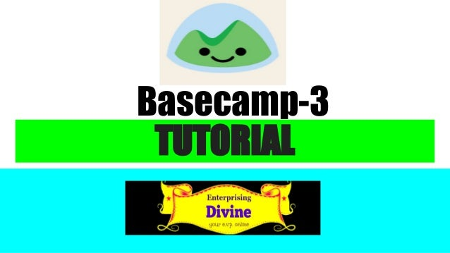 TUTORIAL Basecamp-3