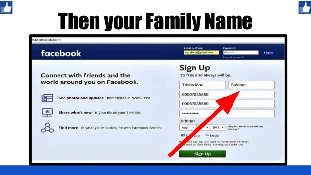 How to create a Facebook Account and FB Page