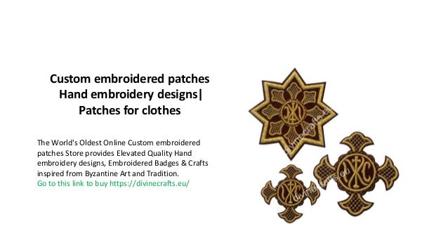 Custom embroidered patches | Hand embroidery designs| Patches for clo…