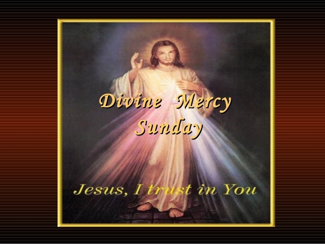 Image result for divine mercy sunday images