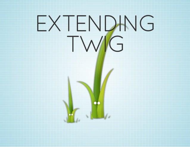EXTENDING TWIG