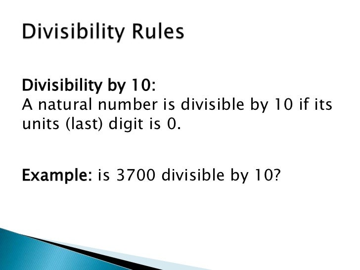 how to find the divisibility of 11