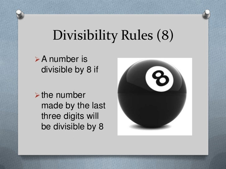 divisibility rules Find and save ideas about divisibility rules on pinterest | see more ideas about number theory, math fractions and math division.