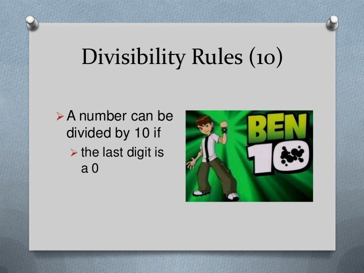 Divisibility rules divisibility rules freerunsca Image collections