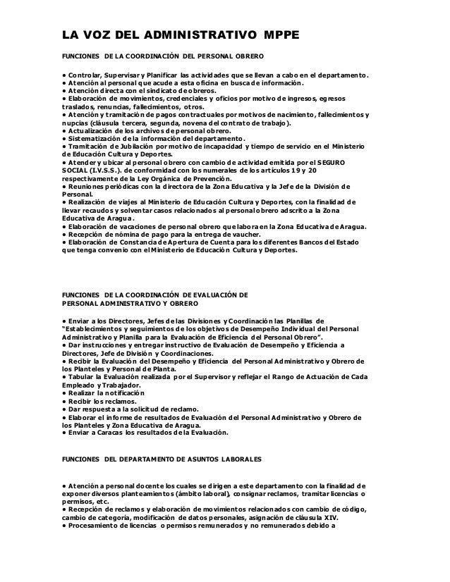 Divisi n de personal for Clausula suelo oficina directa