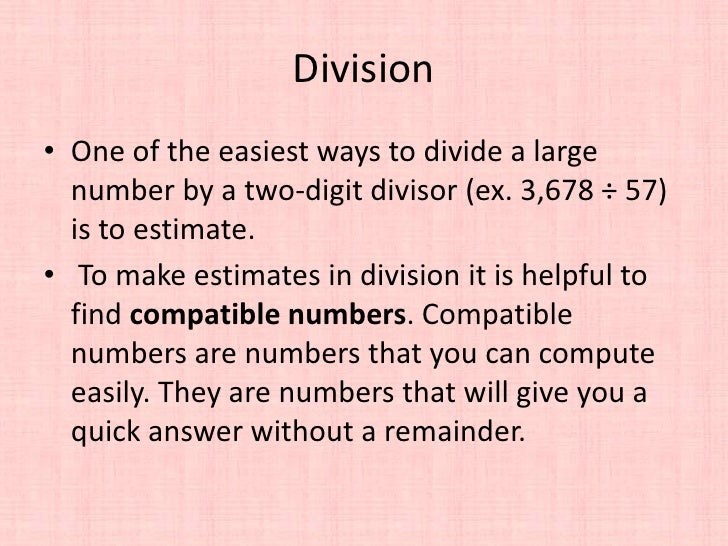 5th Grade Math - Division by a Two-Digit Divisor