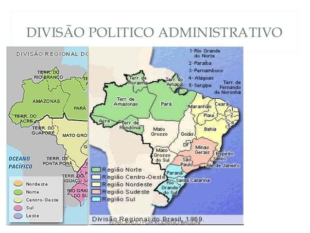 DIVISÃO POLITICO ADMINISTRATIVOELABORADO POR RODRIGO BAGLINI