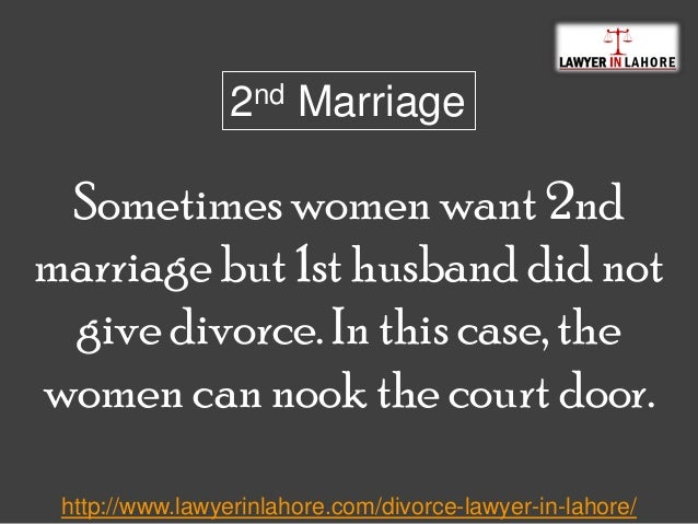 Lawyerinlahore: Divorce Procedure In Pakistan