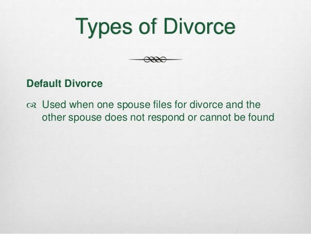 position paper on fault based divorce After you file for a no-fault divorce, there is a 60-day waiting period before the divorce can be granted there is no waiting period for a fault-based divorce these time limits reflect the minimum time limits.