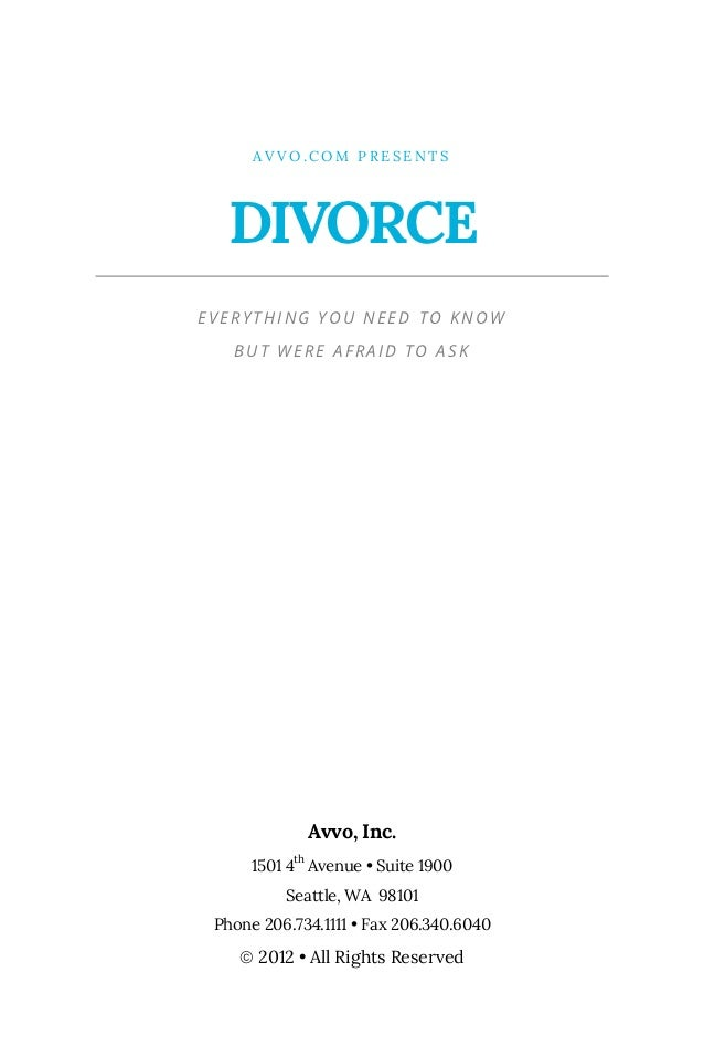 Divorce everything you need to know but were afraid to ask solutioingenieria Gallery